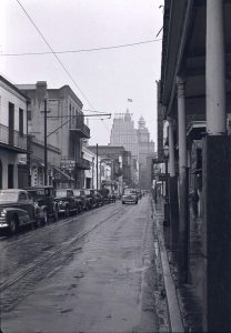 Bourbon Street, circa 1942.