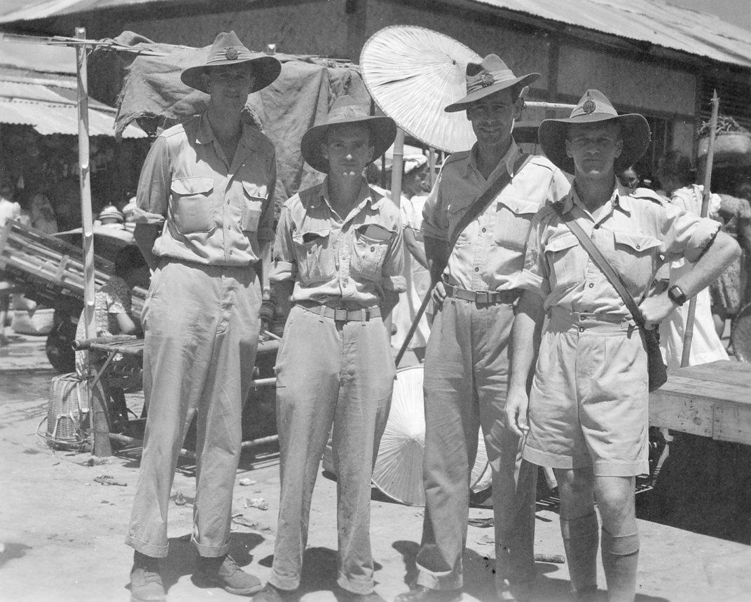 Australian soldiers, World War 2